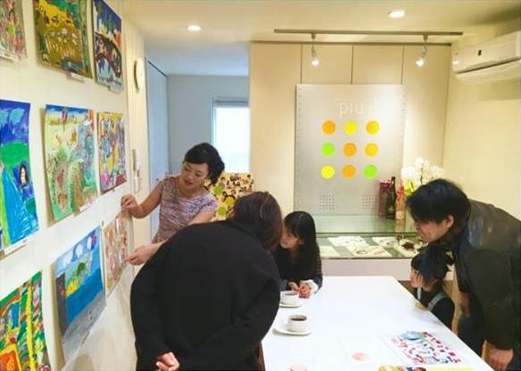 小さなアーティストによる作品展